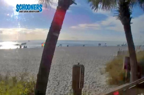 Webcam de Schooners Beach Club Panama City Beach Florida en línea