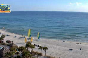 Webcam de Hotel Sandpiper Beacon Beach Resort Florida en línea