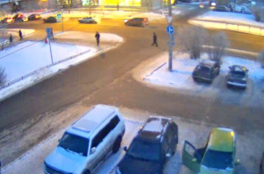 Webcam Crossroads of Lenin Avenue y Massalsky Street en línea